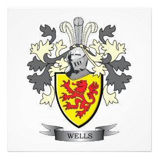 Wells Coat of Arms Art Photo