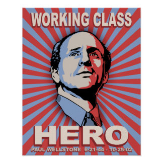 Wellstone Hero Poster