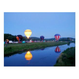 Wellsville Balloon Rally 3 Postcard