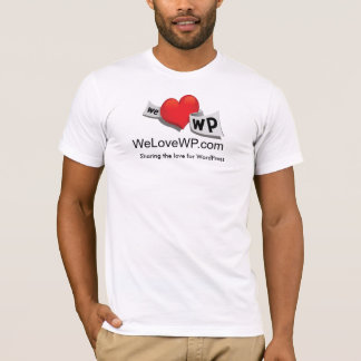 WeLoveWP.com - Customized - Customized T-Shirt
