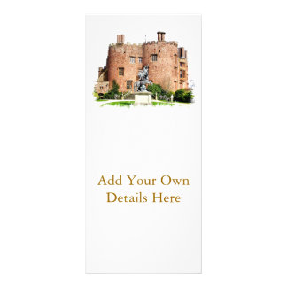 WELSH CASTLES CUSTOMIZED RACK CARD