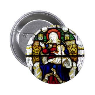 WELSH CHURCHES UK 6 CM ROUND BADGE