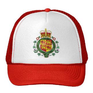 Welsh Coat of Arms detail Trucker Hats