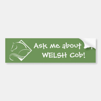 Welsh Cob Bumper Sticker