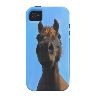 Welsh Cob Pony Close Up Iphone Case Case-Mate iPhone 4 Covers