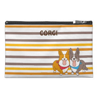 welsh corgi border travel accessory bag