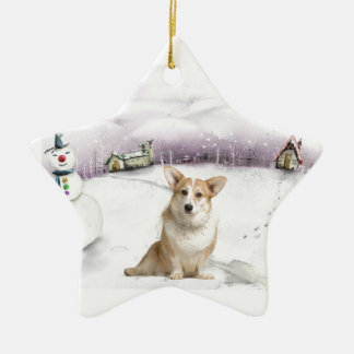 Welsh Corgi (Cardigan) Christmas ornament