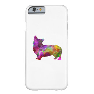 Welsh Corgi Cardigan in watercolor Barely There iPhone 6 Case