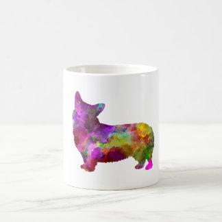 Welsh Corgi Cardigan in watercolor Coffee Mug