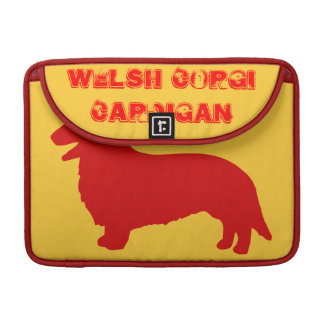 Welsh Corgi Cardigan MacBook Pro Sleeves