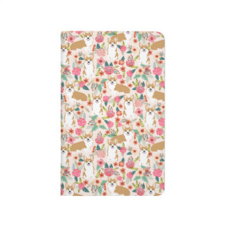 Welsh Corgi cute pocket journal stationery love