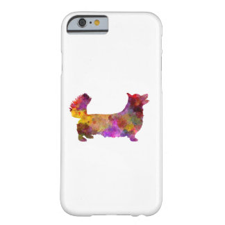 Welsh Corgi Pembroke in watercolor Barely There iPhone 6 Case