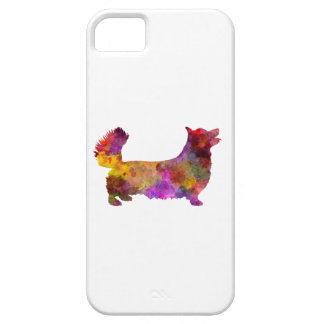 Welsh Corgi Pembroke in watercolor iPhone 5 Case