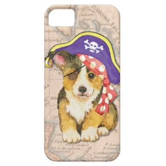 Welsh Corgi Pirate Case For The iPhone 5