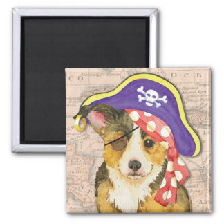 Welsh Corgi Pirate Magnet