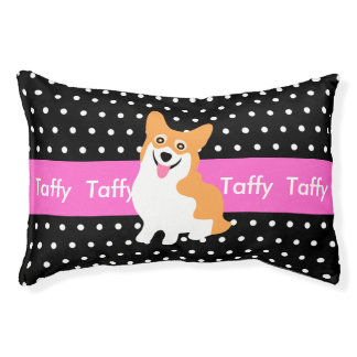 Welsh Corgi's Personalized Dog Bed