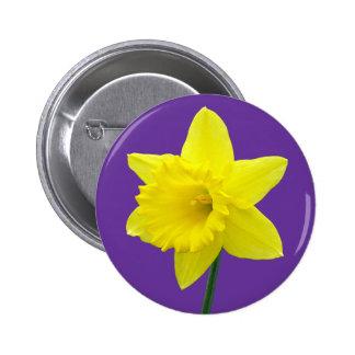 Welsh Daffodil - II 6 Cm Round Badge