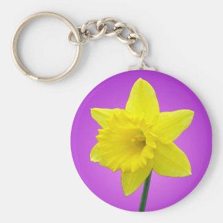 Welsh Daffodil - III Keychains