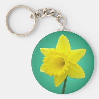 Welsh Daffodil - IV Keychains