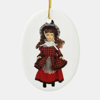 Welsh Doll Ceramic Ornament