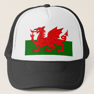 Welsh Dragon Flag Trucker Hat