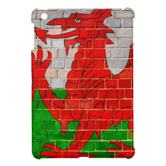Welsh dragon on a brick wall case for the iPad mini
