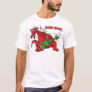 Welsh Dragon Rockin T-Shirt