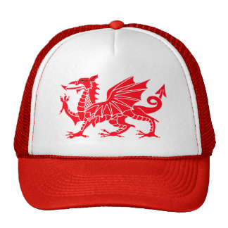Welsh Dragon Trucker Cap