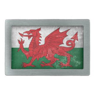 Welsh Flag Belt Buckles