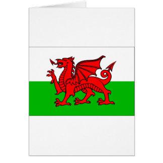 Welsh-Flag Card