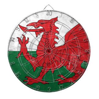 Welsh Flag Dartboard