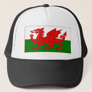 Welsh flag designs cap