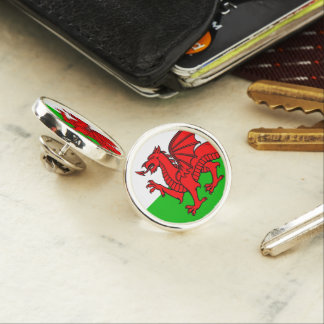 Welsh-flag Lapel Pin