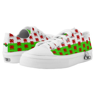 Welsh flag low tops