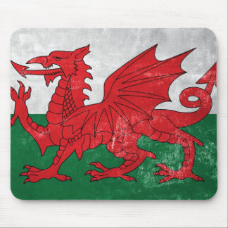 Welsh Flag Mouse Pad
