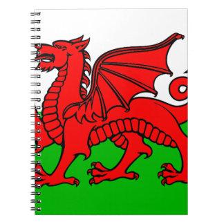 Welsh-Flag Notebook