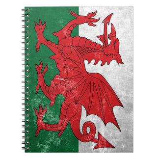 Welsh Flag Notebook