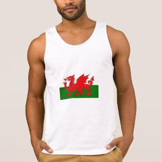 Welsh Flag Singlet