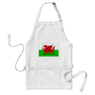 Welsh-Flag Standard Apron