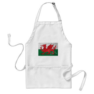 Welsh Flag Standard Apron