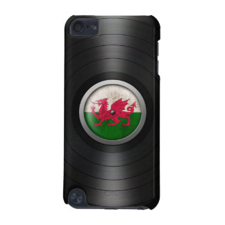 Welsh Flag Vinyl Record Album Graphic iPod Touch (5th Generation) Cover
