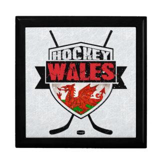 Welsh Ice Hockey Shield Tile Box