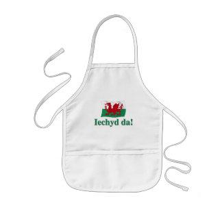 Welsh Iechyd da (Cheers!) Kids' Apron