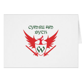WELSH MOTTO GREETING CARD