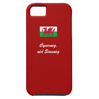 Welsh, not English iPhone 5 Cover