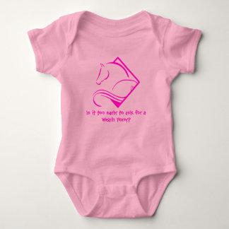 Welsh Pony Baby Body Suit Baby Bodysuit