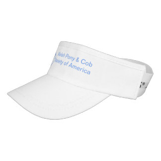 Welsh Pony & Cob Society of America Sun Visor