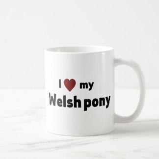 Welsh pony coffee mug