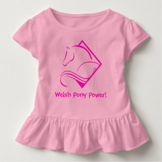 Welsh Pony Power Toddler T-Shirt