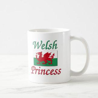 Welsh Princess Basic White Mug